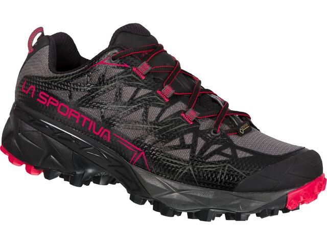 La Sportiva Akyra GTX Zapatillas Running Mujer, negro/gris